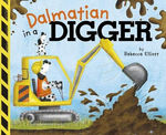 Dalmatian in a Digger book
