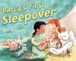 Darcy's First Sleepover book