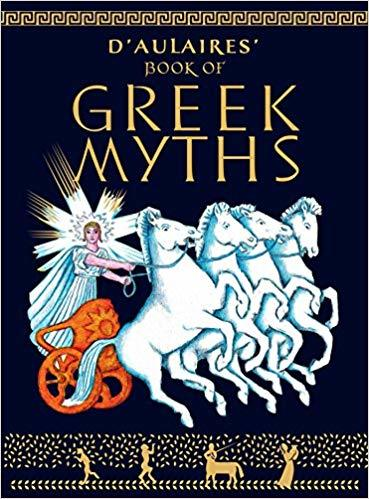 D'Aulaire's Book of Greek Myths book