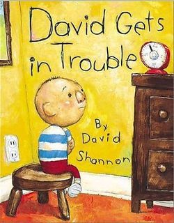 David Gets in Trouble book