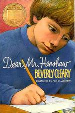 Dear Mr. Henshaw book