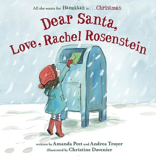 Dear Santa, Love Rachel Rosenstein book
