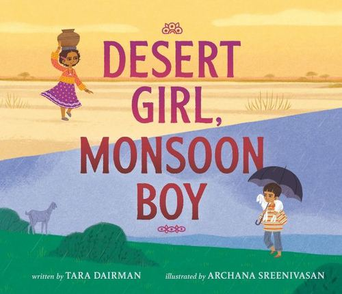 Desert Girl, Monsoon Boy book