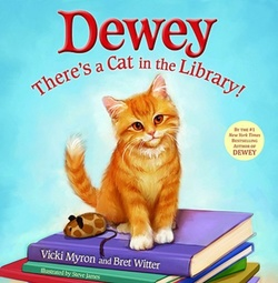 Dewey: There's a Cat in the Library! book