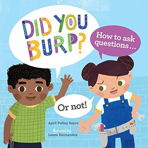 Did You Burp? book