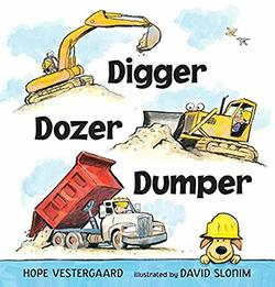Digger, Dozer, Dumper book