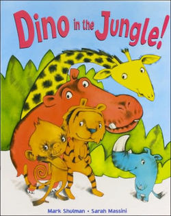 Dino in the Jungle book