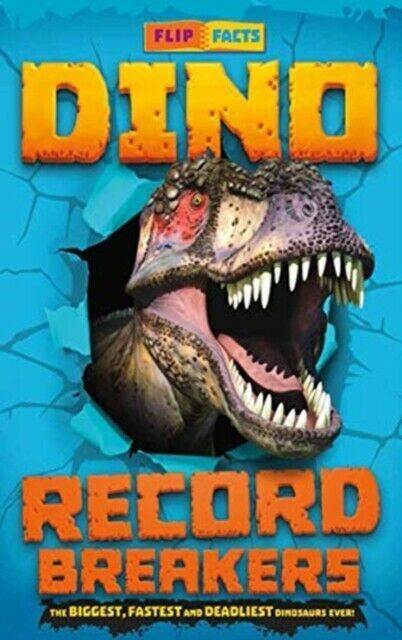 Dino Record Breakers book