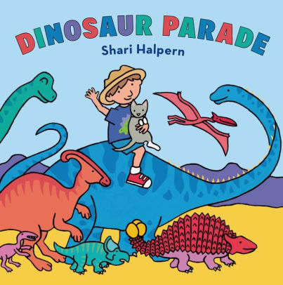 Dinosaur Parade book