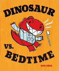 Dinosaur vs. Bedtime book