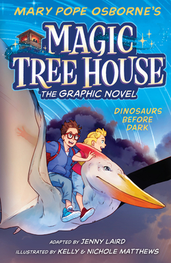 Dinosaurs Before Dark (The Graphic Novel) book