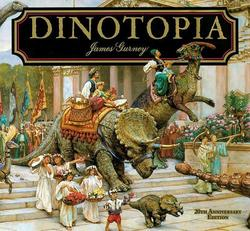 Dinotopia, a Land Apart from Time book