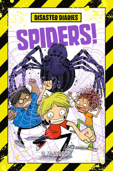 Disaster Diaries: Spiders! book