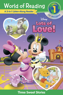 Disney Lots of Love!: A 3-In-1 Listen Along Reader: 3 Sweet Stories [With CD] book