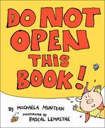 Do Not Open this Book! book