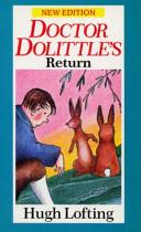 Doctor Dolittle's Return book