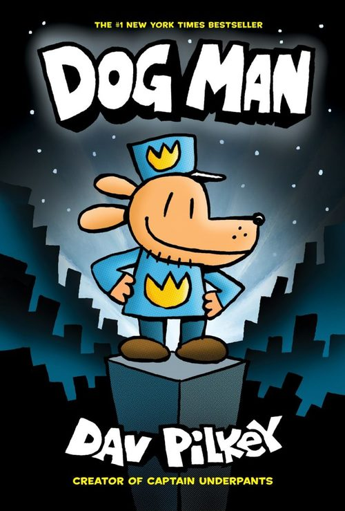 Dog Man book