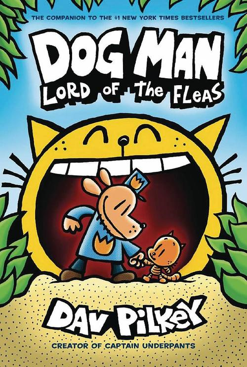 Dog Man: Lord of the Fleas book