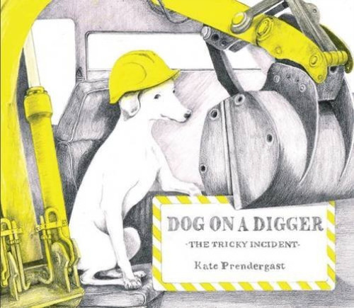 Dog on a Digger Book