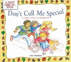 Don't Call Me Special book