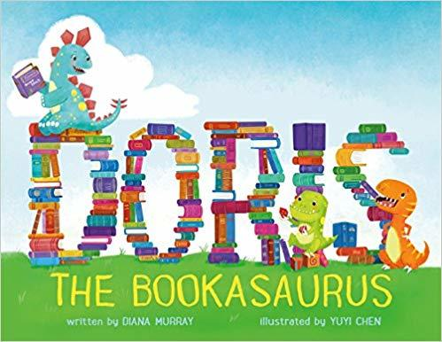 Doris the Bookasaurus book