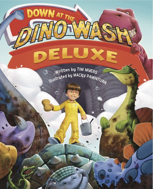 Down at the Dino Wash Deluxe book