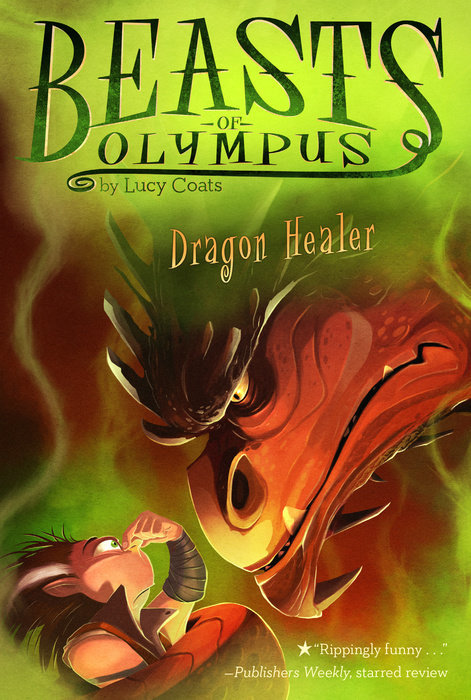 Dragon Healer book