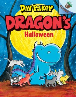 Dragon's Halloween book