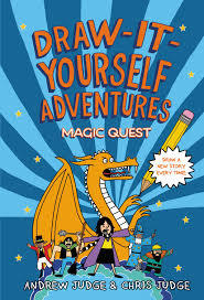 Draw-It-Yourself Adventures: Magic Quest book