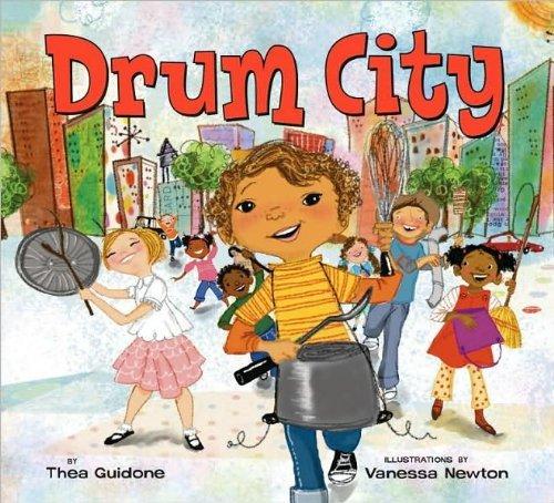 Drum City book