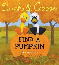 Duck & Goose Find a Pumpkin Book