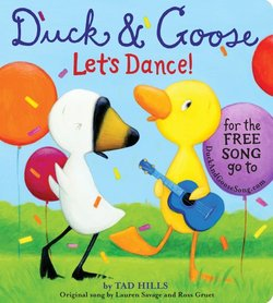 Duck & Goose, Let's Dance! book