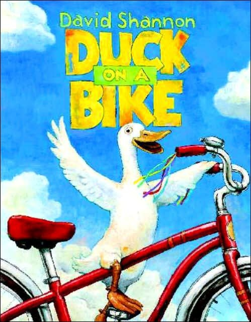 Duck on a Bike book