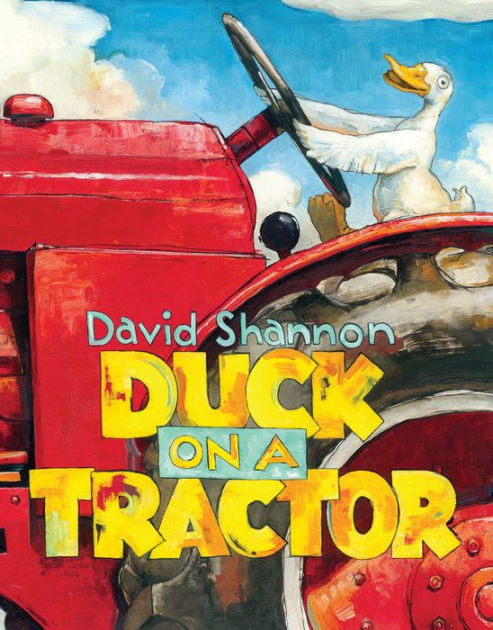 Duck on a Tractor book