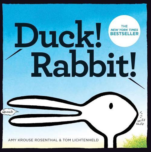 Duck! Rabbit! book
