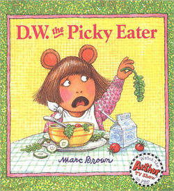 D.W. the Picky Eater book