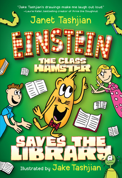 Einstein the Class Hamster Saves the Library book
