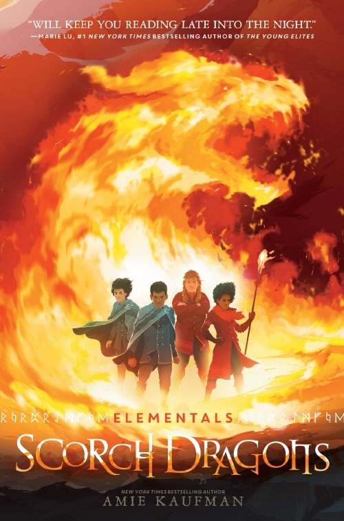 Elementals: Scorch Dragons book