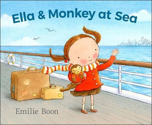 Ella and Monkey at Sea book