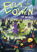 Ella and Owen 8: The Worst Pet book
