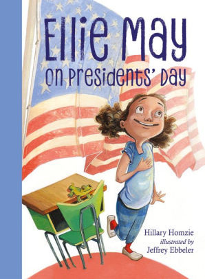 Ellie May on Presidents' Day book