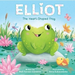 Elliot the Heart-Shaped Frog book
