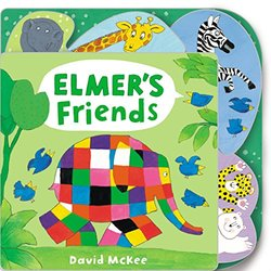 Elmer's Friends book