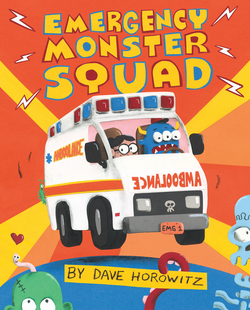 Emergency Monster Squad book