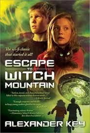 Escape to Witch Mountain book