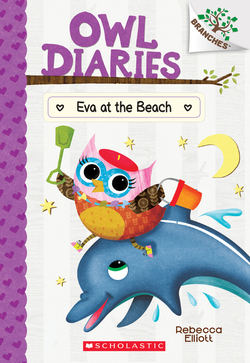 Eva at the Beach book