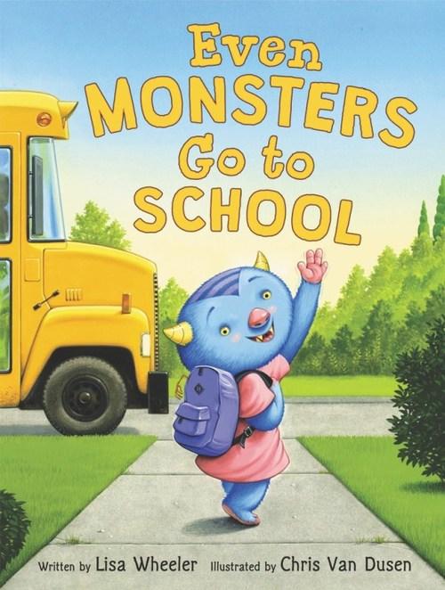 Even Monsters Go to School book
