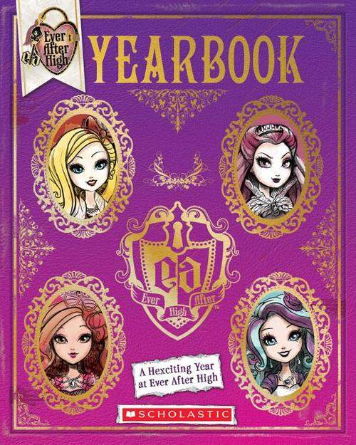 Ever After High: Yearbook book