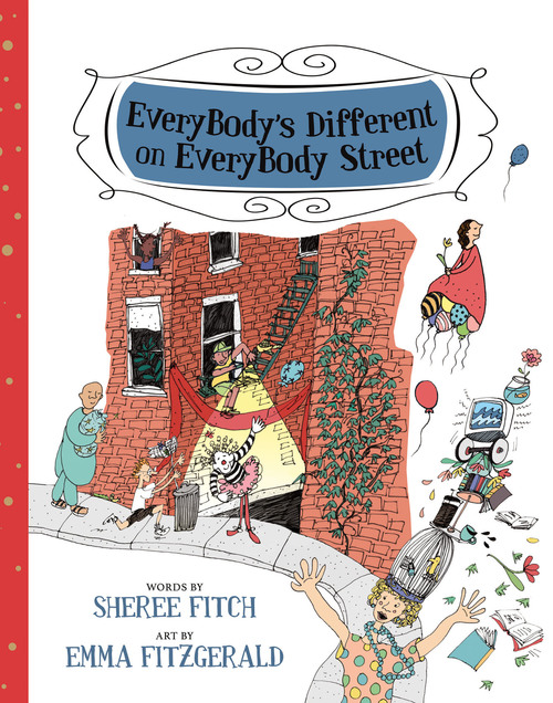 EveryBody's Different on EveryBody Street Book