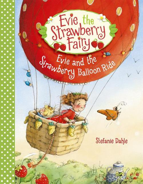Evie and the Strawberry Balloon Ride book